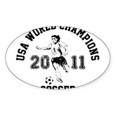 Funny Soccer 2011 Decal
