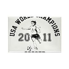 Funny Soccer 2011 Rectangle Magnet