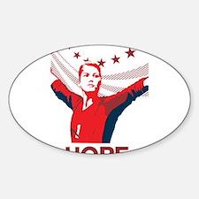 Unique Soccer 2011 Sticker (Oval)