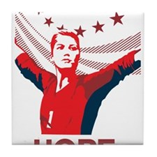 Unique Usa womens soccer Tile Coaster