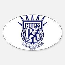 Cute Soccer 2011 Sticker (Oval)