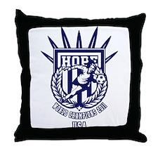 Cute Usa womens soccer Throw Pillow