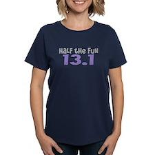 Funny Half the Fun 13.1 Tee