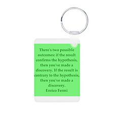 Enrico Fermi quotes Keychains