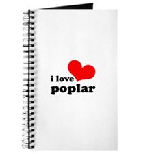 i love poplar Journal