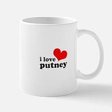 i love putney Mug