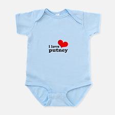 i love putney Infant Bodysuit