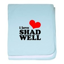 i love shadwell baby blanket