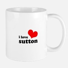 i love sutton Mug