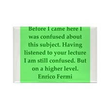 Enrico Fermi quotes Rectangle Magnet