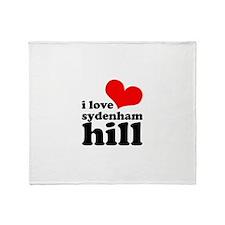i love sydenham hill Throw Blanket