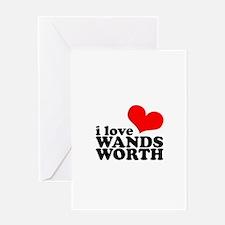 i love wandsworth Greeting Card