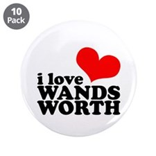 """i love wandsworth 3.5"""" Button (10 pack)"""