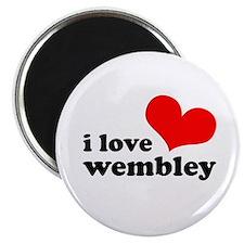 i love wembley Magnet