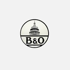 Baltimore and Ohio railroad Mini Button
