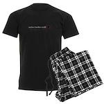 neither/neither world Men's Dark Pajamas
