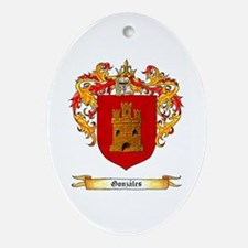 Gonzales Ornament (Oval)