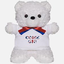 come on (union jack) Teddy Bear