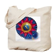 Show Ribbon First Place Tote Bag