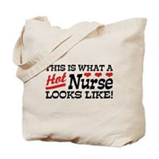 Hot Nurse Tote Bag