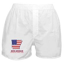AR USA Flag Map 2 Boxer Shorts