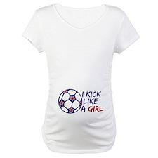 Kick Like A Girl Soccer Shirt
