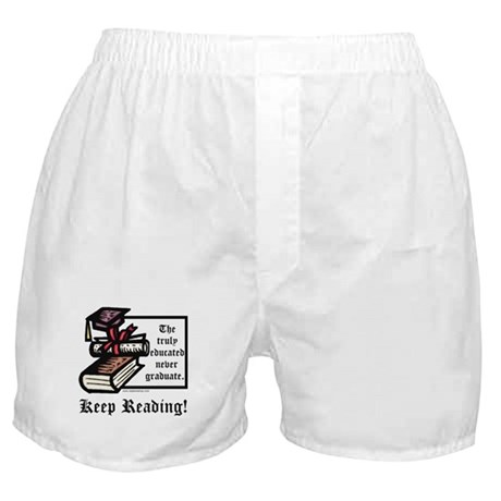 Truly Educated Boxer Shorts