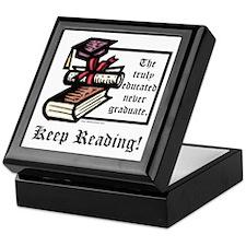 Truly Educated Keepsake Box