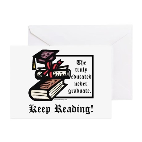 Truly Educated Greeting Cards (Pk of 10)