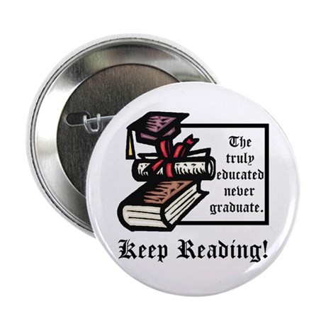 """Truly Educated 2.25"""" Button (100 pack)"""