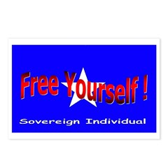 Free Yourself Postcards (Package of 8)