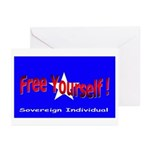 Free Yourself Greeting Cards (Pk of 10)