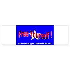 Free Yourself Bumper Bumper Sticker