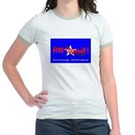 Free Yourself Jr. Ringer T-Shirt
