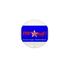 Free Yourself Mini Button (10 pack)