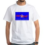 Free Yourself White T-Shirt