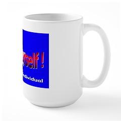 Free Yourself Large Mug