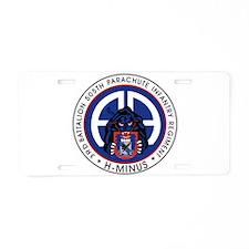 3rd / 505th PIR Aluminum License Plate