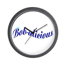 Bobalicious Wall Clock