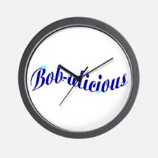 Bobalicious Wall Clock
