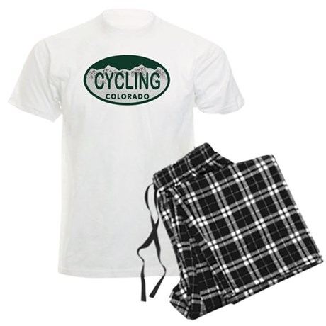 Cycling Colo License Plate Men's Light Pajamas