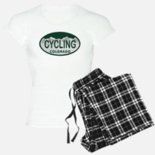 Cycling Colo License Plate Pajamas