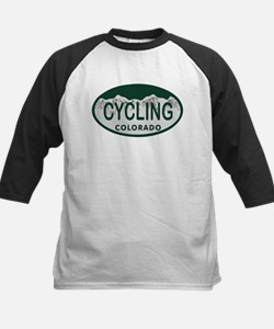 Cycling Colo License Plate Tee