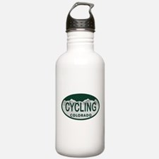 Cycling Colo License Plate Water Bottle