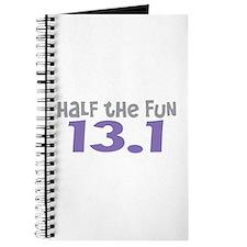 Funny Half the Fun 13.1 Journal
