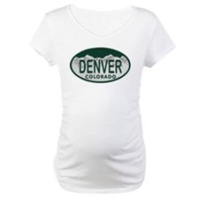 Denver Colo License Plate Shirt