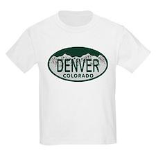 Denver Colo License Plate T-Shirt