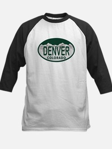 Denver Colo License Plate Tee