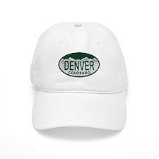 Denver Colo License Plate Baseball Cap