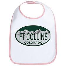 Ft Collins Colo License Plate Bib